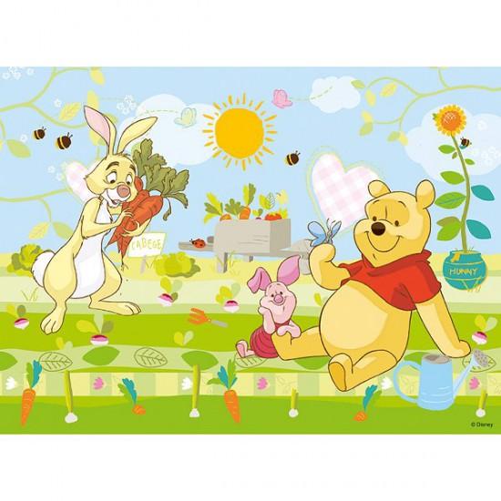 Puzzle 30 pièces - Un après midi au jardin pour Winnie et ses amis - Trefl-18159