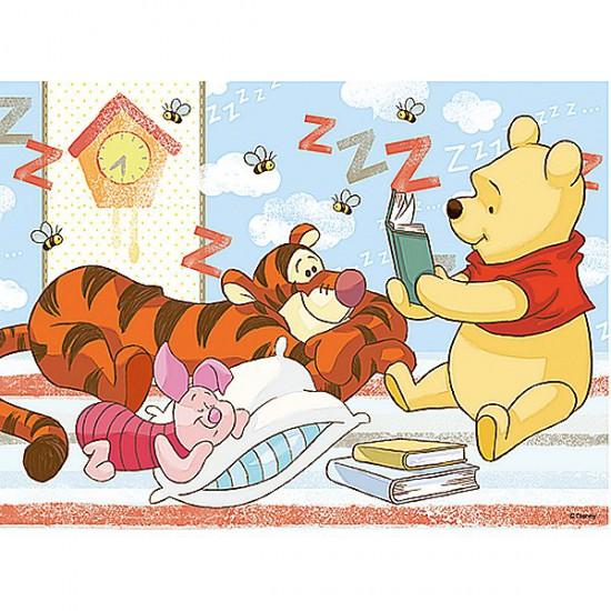 Puzzle 30 pièces - Winnie lit l'histoire du soir à Tigrou - Trefl-18160