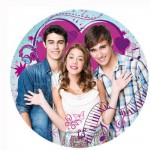 Puzzle 300 pièces rond : Violetta et ses amis