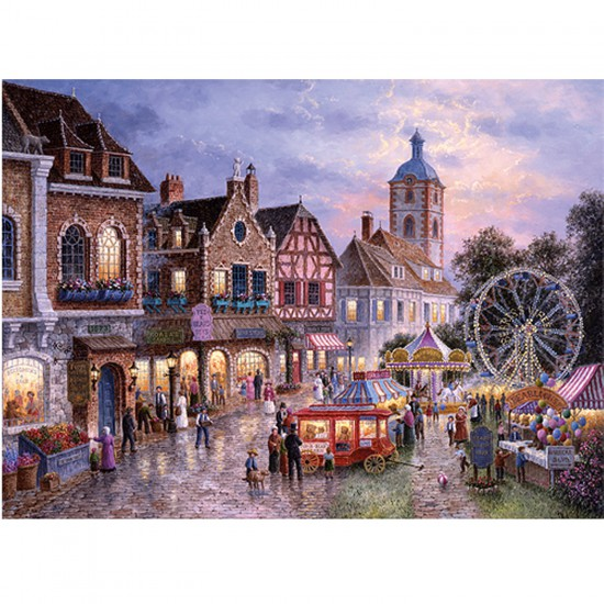 puzzle 3000 pi ces la f te foraine puzzle trefl rue des puzzles. Black Bedroom Furniture Sets. Home Design Ideas