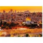 Puzzle 3000 pièces : Les toits de Jérusalem