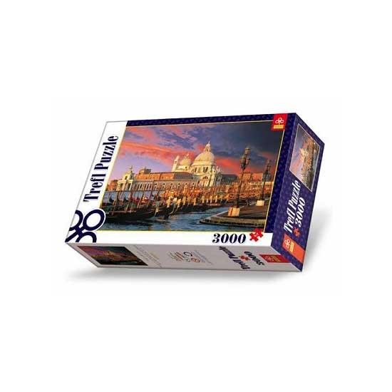 Puzzle 3000 pièces - Basilique Sainte Marie du Salut, Venise - Trefl-33020