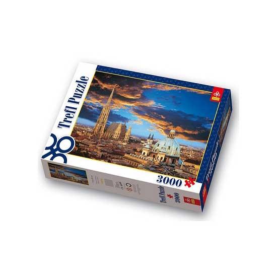 Puzzle 3000 pièces - Une nuit à Vienne - Trefl-33016