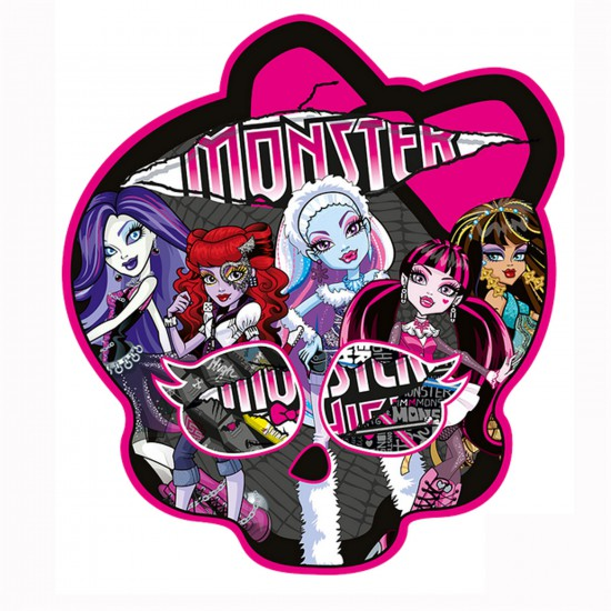 Puzzle 350 pièces contour : Monster High : Terrifiantes amies - Trefl-39092