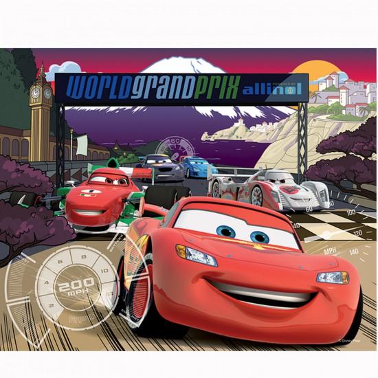 Puzzle 3D : 120 pièces : Cars dans la course - Trefl-35649