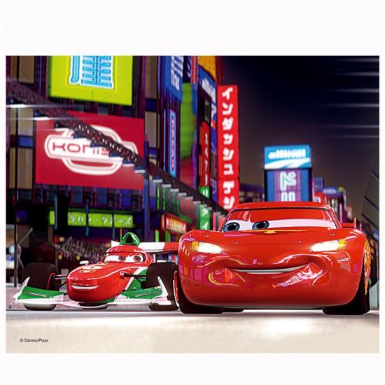 Puzzle 3D : 72 pièces : Cars 2 Flash et Francesco - Trefl-35556