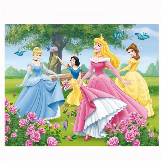 Puzzle 3D : 72 pièces : Les messages des Princesses Disney - Trefl-35537