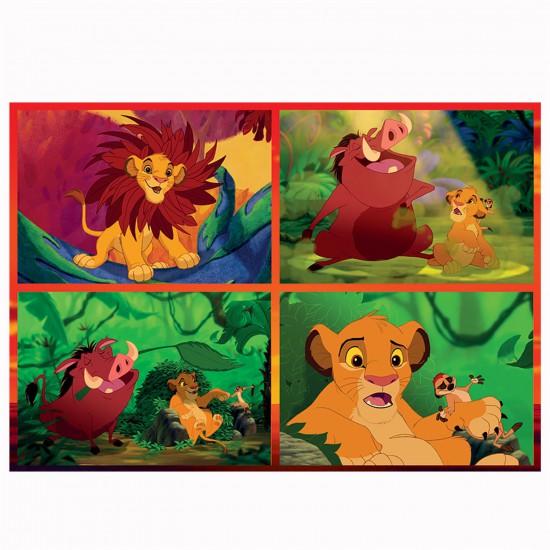 Puzzle 50 pièces Dynamic 3D : Le roi lion - Trefl-35192