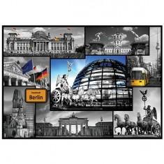 Puzzle 500 pièces : Collage Berlin, Allemagne