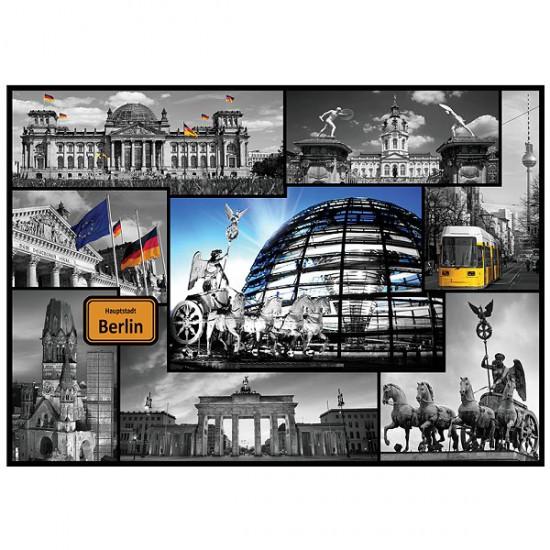 Puzzle 500 pièces : Collage Berlin, Allemagne - Trefl-37171