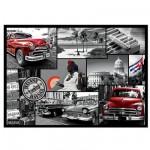 Puzzle 500 pièces : Collage La Havane