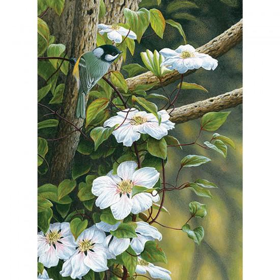 Puzzle 500 pièces : Fleurs de printemps - Trefl-37166