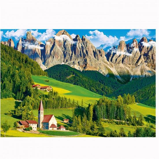 Puzzle 500 pièces : Les Dolomites, Italie - Trefl-37189