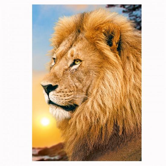 Puzzle 500 pièces : Lion - Trefl-37191