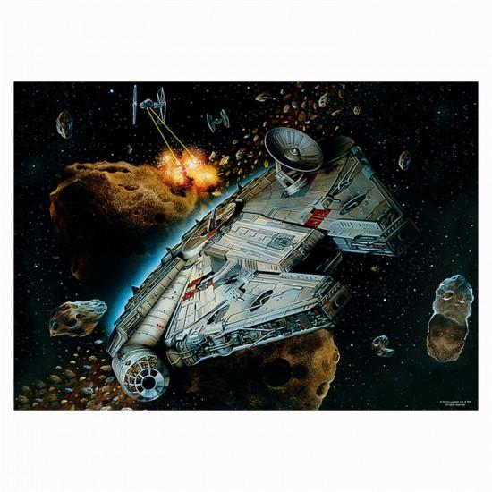 Puzzle 500 pièces : Star Wars, Falcon Millenium - Trefl-37186