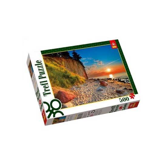 Puzzle 500 pièces - Auprès de la falaise - Trefl-37118