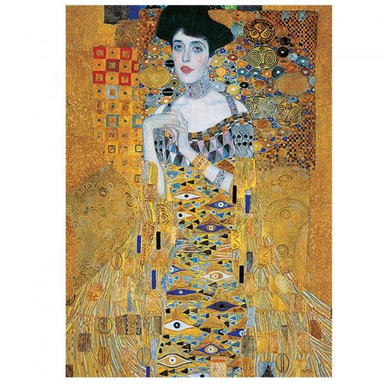 Puzzle 500 pièces Gustav Klimt : Portait d'Adèle Bloch-Bauer - Trefl-37217