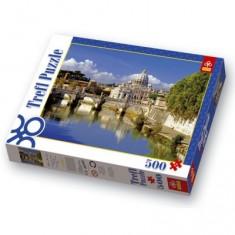 Puzzle 500 pièces - Le Vatican, Rome