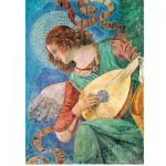 Puzzle 500 pièces Melozzo da Forli : L'ange musicien