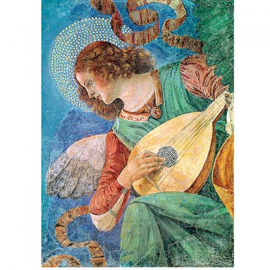 Puzzle 500 pièces Melozzo da Forli : L'ange musicien - Trefl-37215