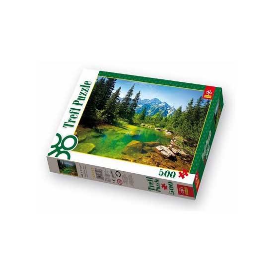Puzzle 500 pièces - Rivière des Tatras, Pologne - Trefl-37117