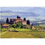 Puzzle 500 pièces - Toscane, Italie