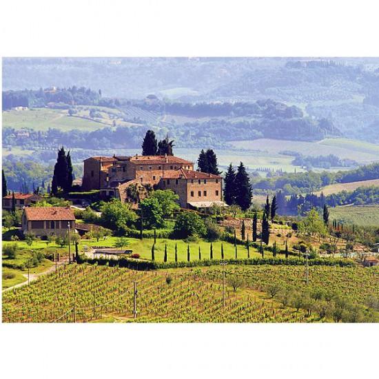 Puzzle 500 pièces - Toscane, Italie - Trefl-37162