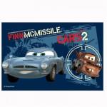 Puzzle 54 pièces Mini : Cars Finn McMissile et Martin