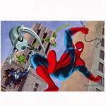 Puzzle 54 pièces Mini : Spiderman le combat
