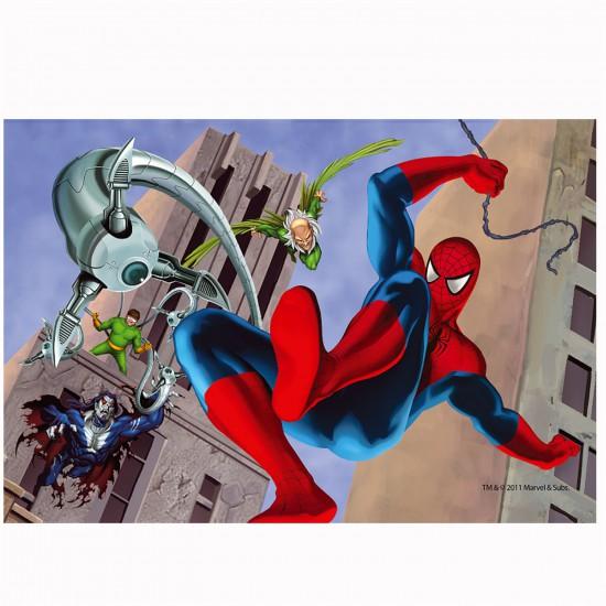 Puzzle 54 pièces Mini : Spiderman le combat - Trefl-54101-19375