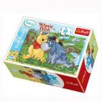 Puzzle 54 pièces Mini : Winnie l'ourson : Winnie et Bourriquet