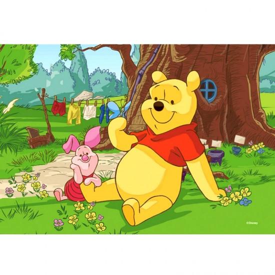Puzzle 54 pièces Mini : Winnie l'ourson et Porcinet - Trefl-54106-19394