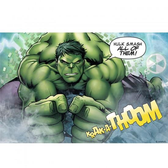 Puzzle 54 pièces Mini Avengers : Hulk - Trefl-19496
