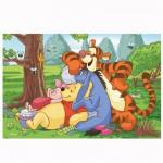 Puzzle 54 pièces Mini Disney : Winnie l'ourson et ses amis