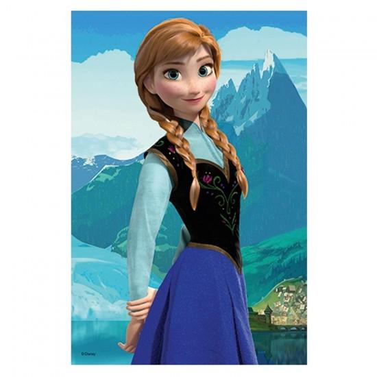 Puzzle 54 pièces Mini Reine des neiges : Anna - Trefl-19501