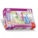 Puzzle 60 pièces - Les princesses Disney