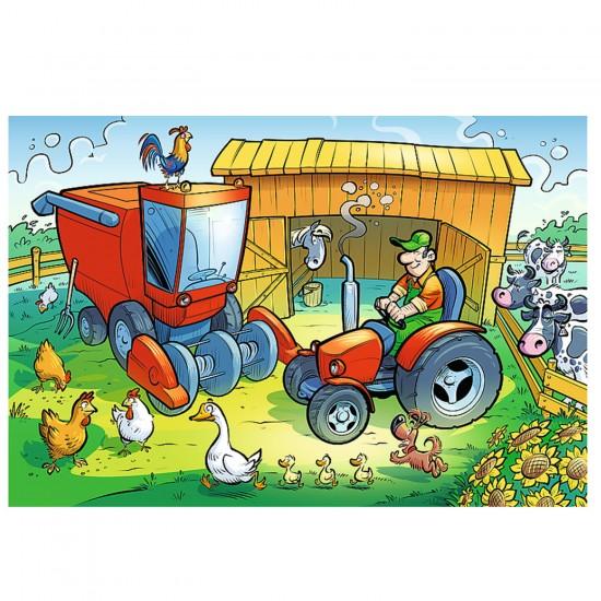Puzzle 60 pièces : Dans la ferme - Trefl-17269