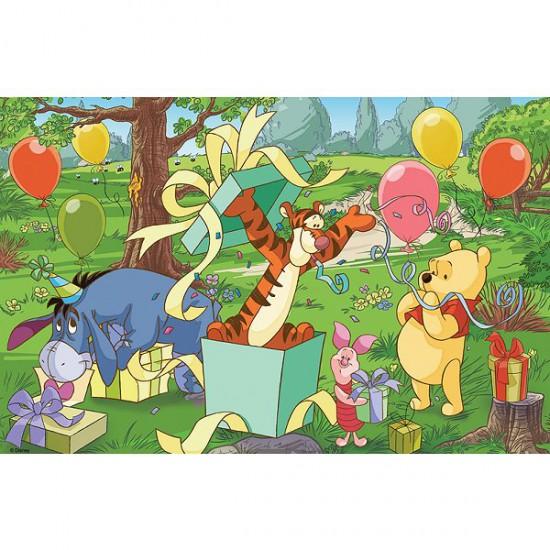 Puzzle 60 pièces - Une surprise pour Winnie - Trefl-17210