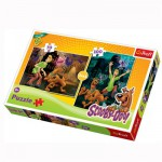 Puzzle 70 à 100 pièces : 2 puzzles : Scooby Doo