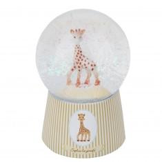 Boule à Neige Musicale en Verre : Sophie la Girafe