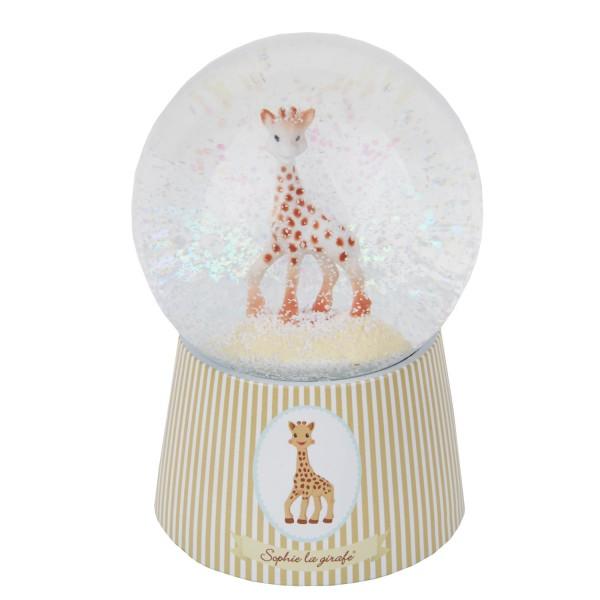boule neige musicale en verre sophie la girafe jeux. Black Bedroom Furniture Sets. Home Design Ideas