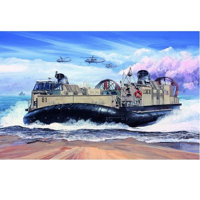 Maquette bateau: Barge de débarquement LCAC US Marine corps 2005 - Trumpeter-TR07302