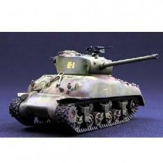 Maquette Char moyen US M4-A1 (76) W Sherman