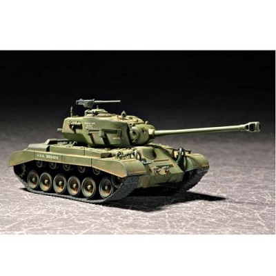 Maquette Char: US M2G2 Pershing 1955 - Trumpeter-TR07299