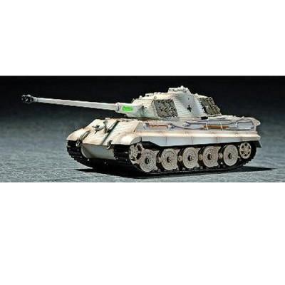 Maquette Char: King Tiger avec zimmerit 1944: Tourelle Porsche  - Trumpeter-TR07292