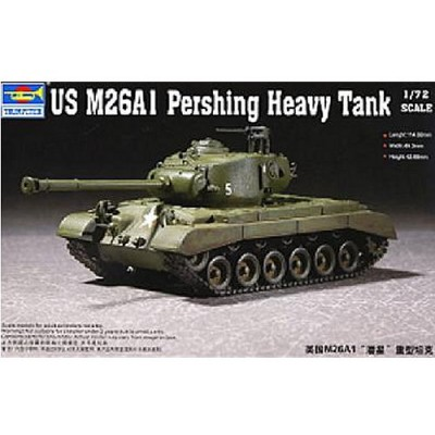 Maquette Char: US M26A1 Pershing 1950 - Trumpeter-TR07286