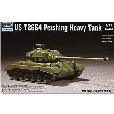 Maquette Char: US T26E-4 Pershing 1952 - Trumpeter-TR07287