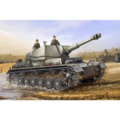 Maquette Char: Geschützwagen IVb Für 10.5cm leFH 18/1 (sf) Sd.Kfz 165/1 - Trumpeter-TR00374