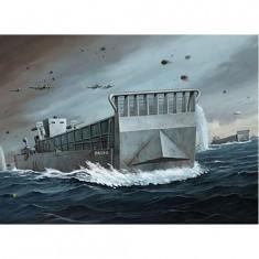 Maquette bateau: Barge de débarquement LCM3 USN