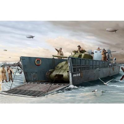 Maquette bateau: Barge de débarquement US LCM(3) 1944 - Trumpeter-TR00347